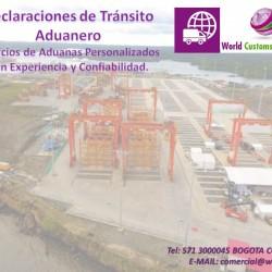 Aduanas Declaraciones de transito Aduanero